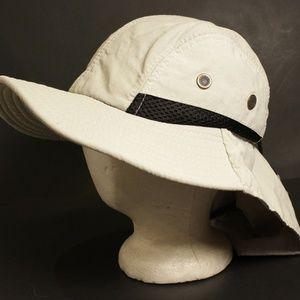 Other - Safari Hat Cap Neck Flap Summer Gardening Boonie